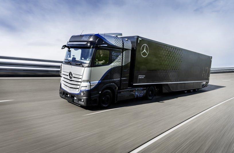 Daimler Trucks startet intensive Tests seines Brennstoffzellen-Lkw<br>Bildquelle: Daimler Truck AG