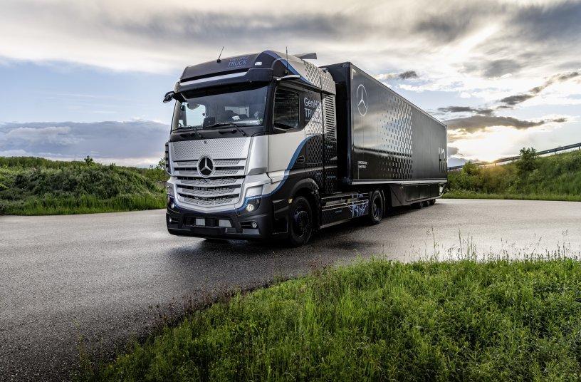 Daimler Trucks begins rigorous testing of its fuel-cell truck <br> Image source: Daimler Truck AG