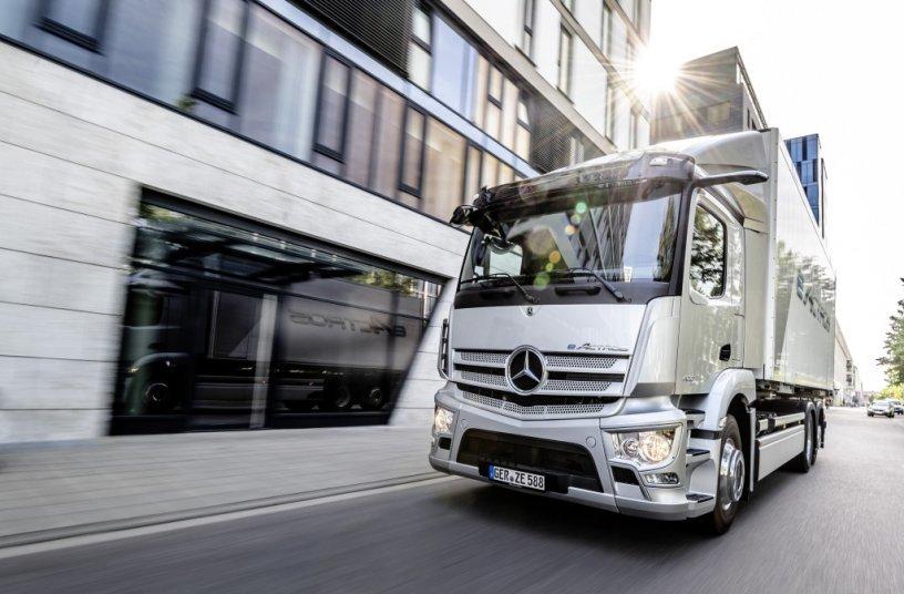 Mercedes-Benz eActros Weltpremiere 2021<br> Bildquelle: Daimler Truck AG