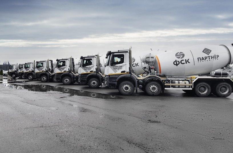 Großauftrag für Daimler Trucks in Russland: Partner Group erhält 100 Mercedes-Benz Arocs <br> Bildquelle: Daimler Truck AG