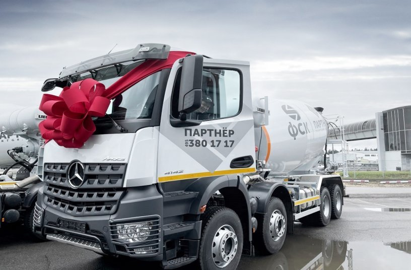Large order for Daimler Trucks in Russia: Partner Group orders 100 Mercedes-Benz Arocs <br> Image source: Daimler Truck AG