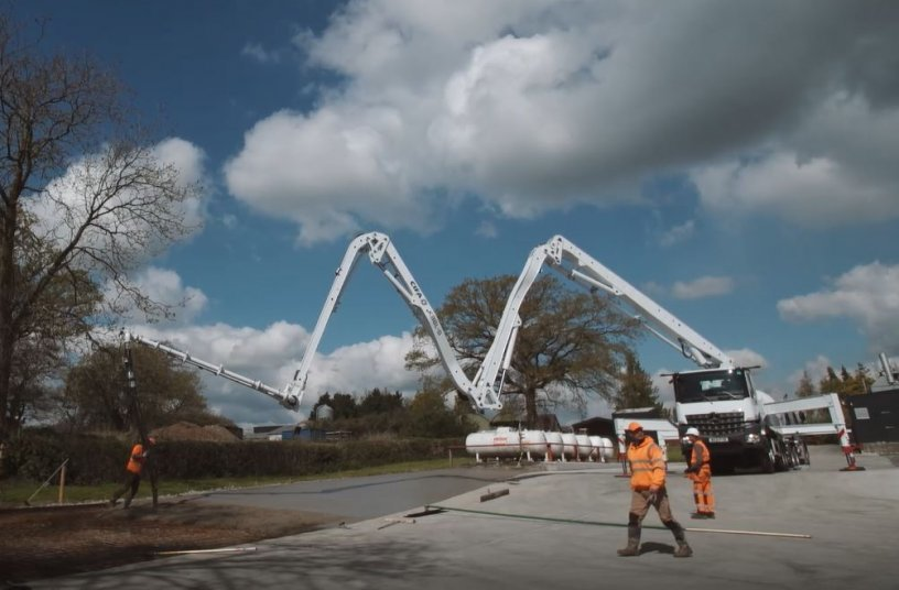 CIFA's New Concrete Pump <br> Image source: CIFA SpA