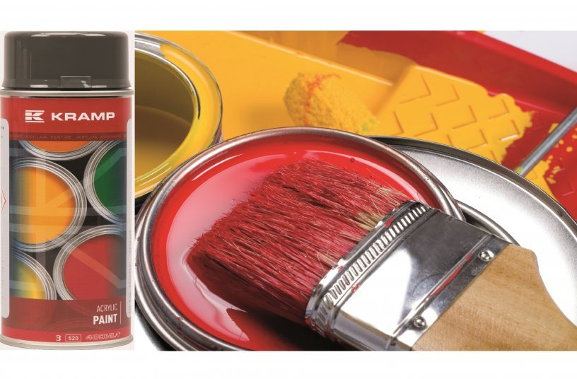 Kramp Kunstharzlacke <br> Bildquelle: Kramp GmbH