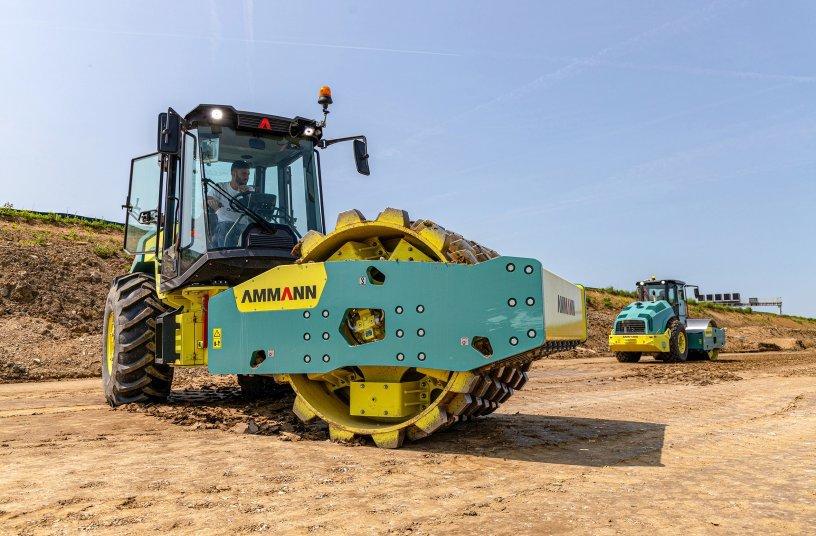 Ob Dammbau, Straßenbau, Häfen oder Industrie- und Wohngebiete, der ARS 200 arbeitet effizient und zuverlässig.