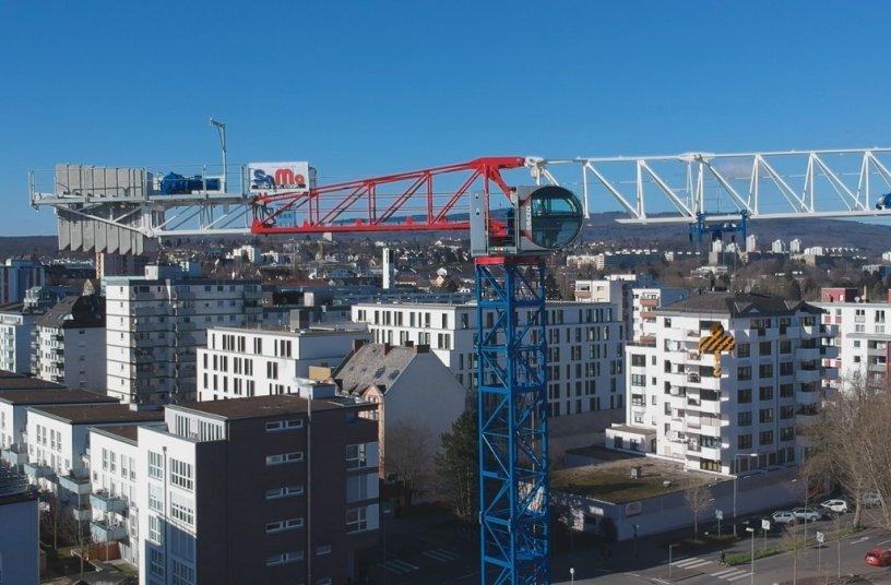 Aerial shot Raimondi MRT234 Wiesbaden, Germany