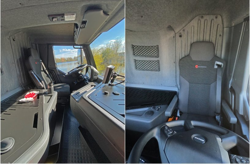 Grove GMK5150L-1 mit neuem Fahrerhaus  <br> Bildquelle: MANITOWOC COMPANY, INC.