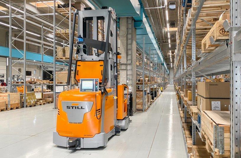 Für die Zukunft bestens gewappnet: Das neue Produktionslager von Danfoss im dänischen Tinglev überzeugt mit bedarfsgerechter Projektautomatisierung und smarten, KI-gestützten Tools. Damit ist es ein echtes Benchmark-Projekt.