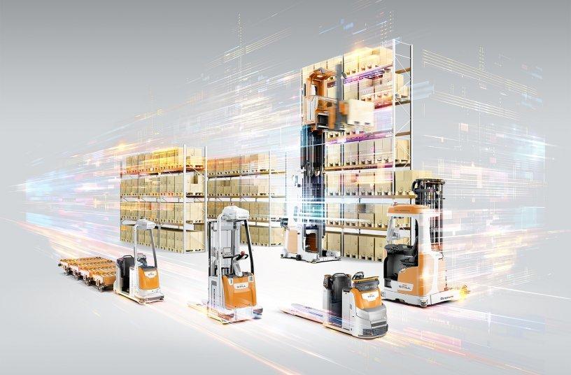 Um das neue Werk von Beiersdorf nachhaltig und langfristig zukunftsfähig aufzustellen, kommen unter anderem zwölf automatisierte iGo systems Fahrzeuge von STILL zum Einsatz.<br> Bildquelle: STILL GmbH