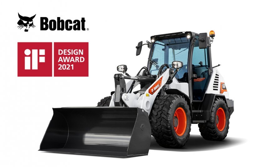 New Bobcat Compact Wheel Loader Wins Global Design Award