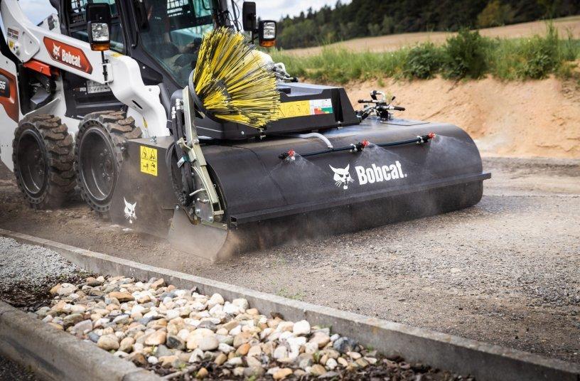 New Sweepers Join Bobcat's Unique Road Maintenance Portfolio <br> Image source: Doosan Bobcat EMEA
