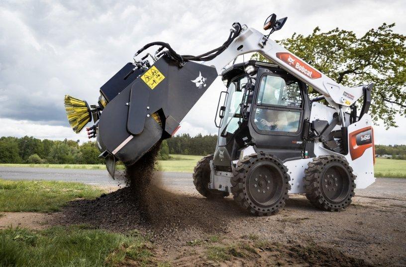 Bobcat bringt neue Kehrmaschinenaufsätze auf den Markt <br> Bildquelle: Doosan Bobcat  EMEA