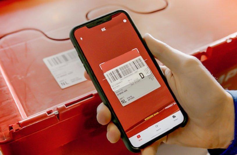 Box Scan - Kramp App <br> Bildquelle: KRAMP GmbH