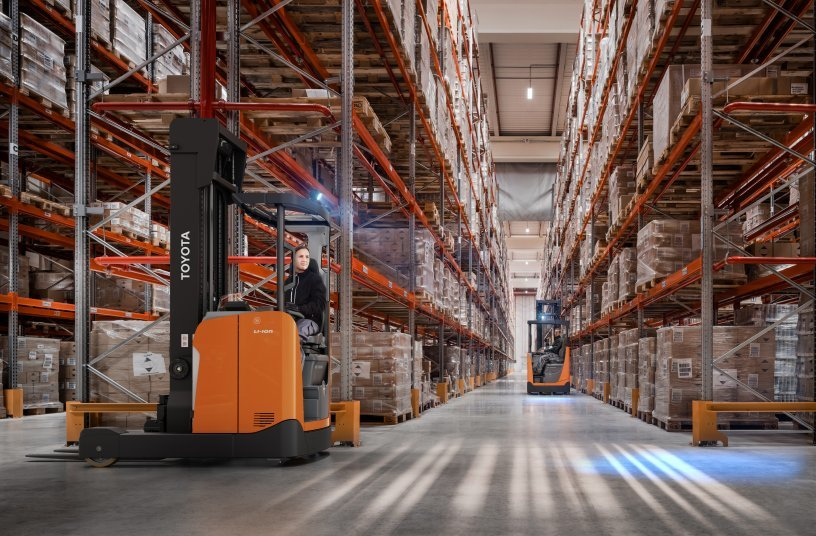 Proven innovation with the new BT Reflex from Toyota<br>Image source: Toyota Material Handling Europe