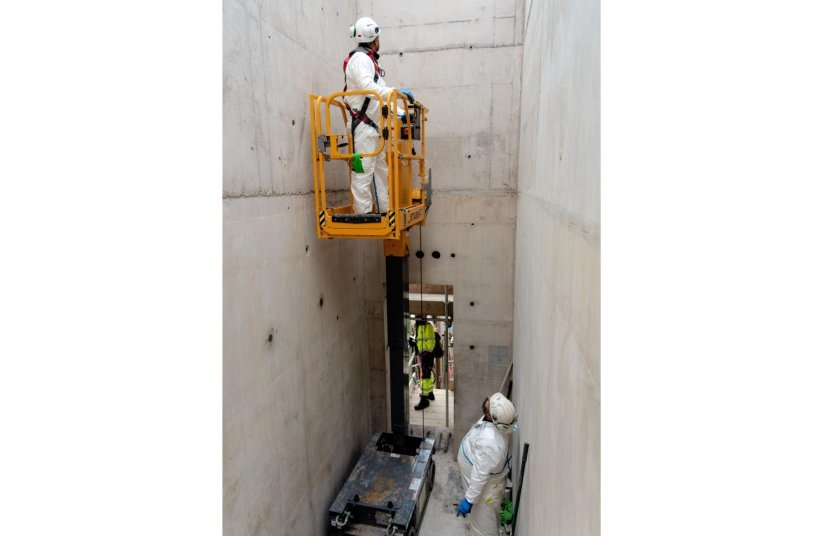 Haulotte machines selected for a large nuclear project <br>Image source: Haulotte Group