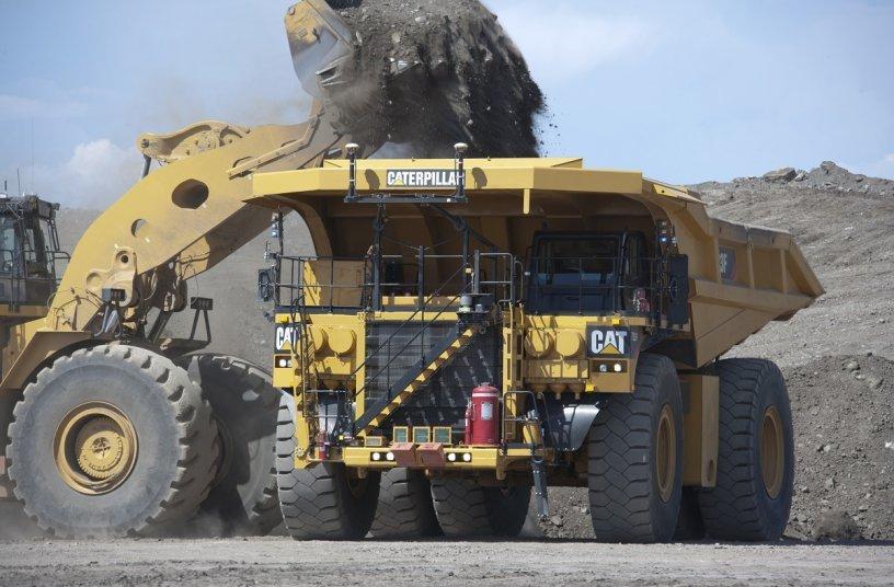 BHP and Caterpillar to accelerate development of zero-emissions mining trucks<br>IMAGE SOURCE: Caterpillar UK Ltd.