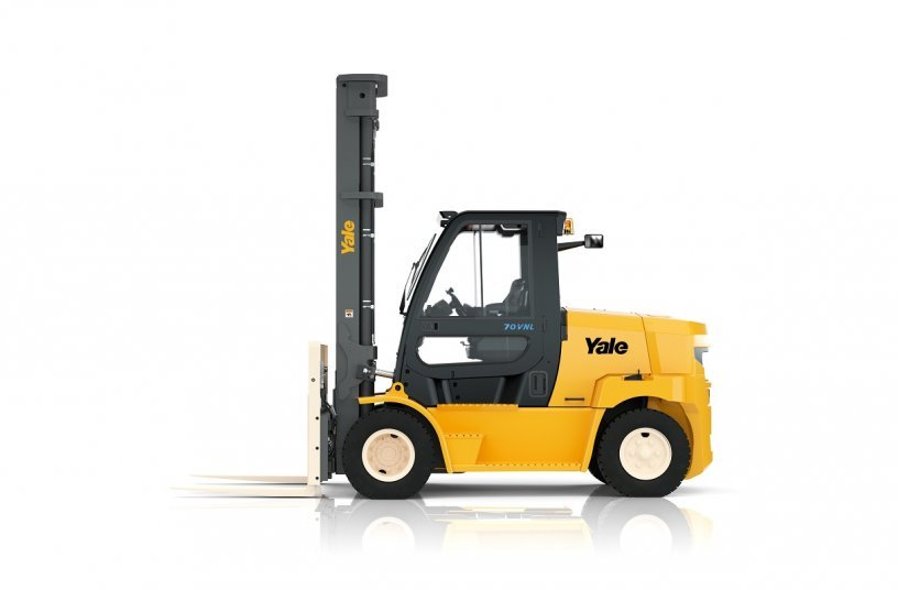 Yale electric counterbalance truck <br>Image Source: Yale Europe Materials Handling</br>