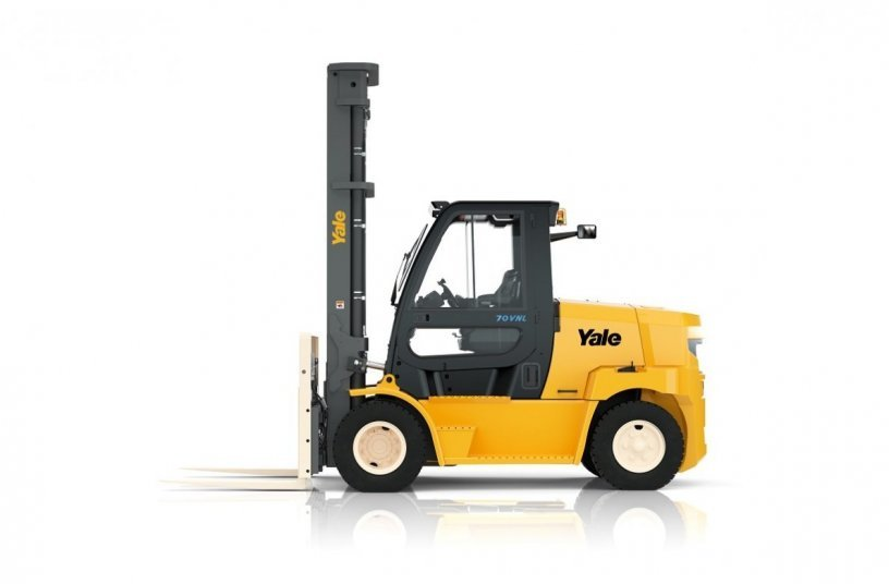 Yale electric counterbalance truck <br>Image source: Yale Europe Materials Handling