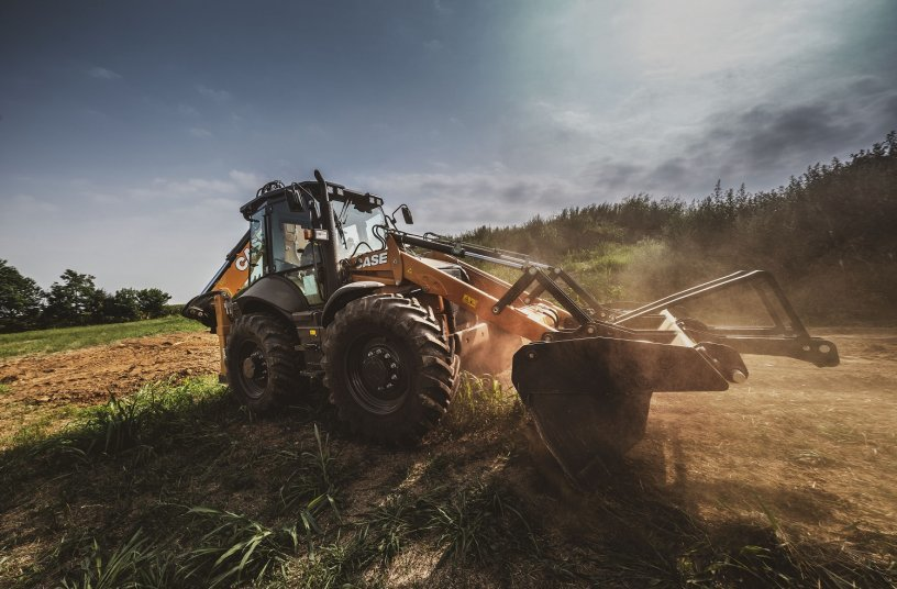 CASE Baggerlader SV-Serie<br> Bildquelle: CASE Construction Equipment