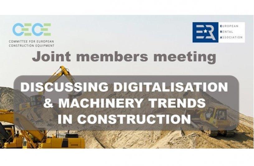 CECE ERA event<br>SOURCE: CECE - Committee for European Construction Equipment
