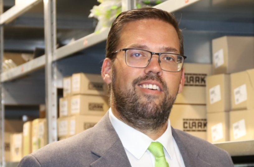 Andy Baldy ist neuer Direktor Parts Sales & Admin bei Clark Europe in Duisburg<br> Bildquelle: CLARK Europe GmbH