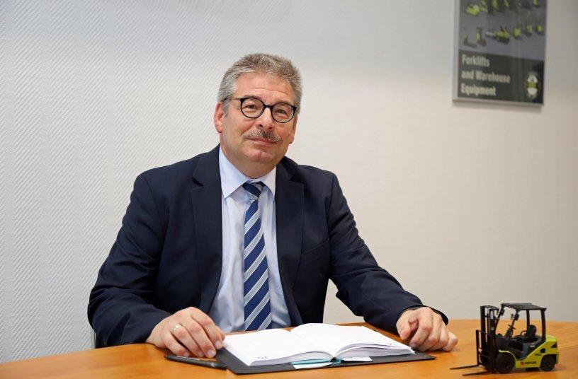 Rolf Eiten, President & CEO, Clark Europe <br> Bildquelle: CLARK Europe GmbH