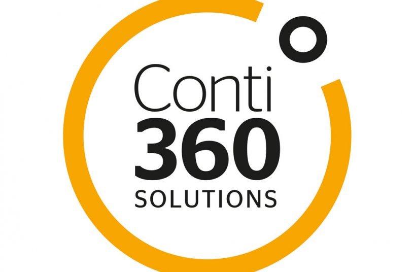 Das neue Logo von Conti360° Solutions (Bildquelle: Continental)
