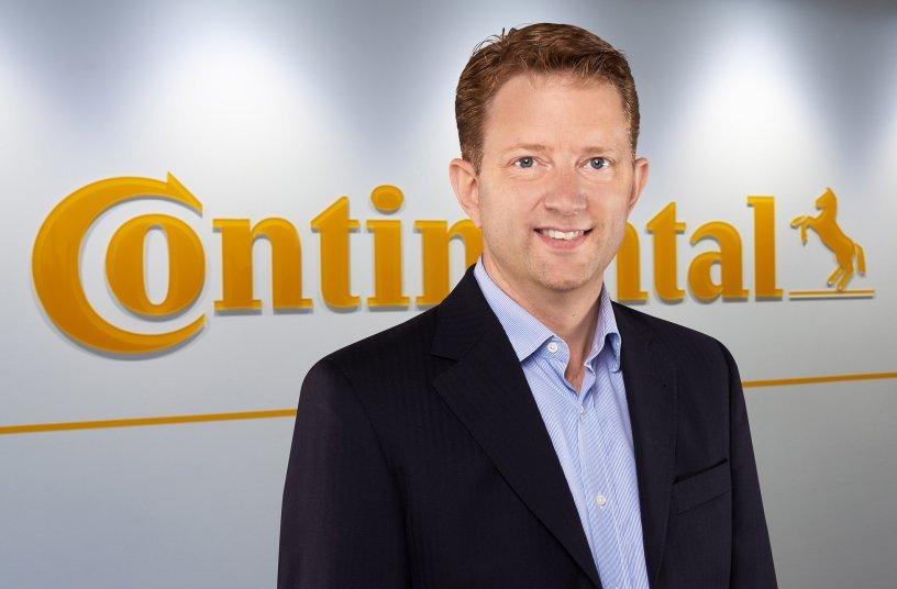 Ralf Benack, Leiter Flottengeschäft EMEA,Continental (Bildquelle: Continental)