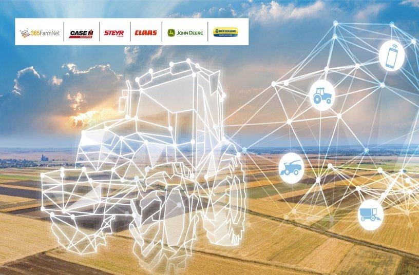 DataConnect brands<br>Image source: CNH Industrial; ASM Public Relations Ltd