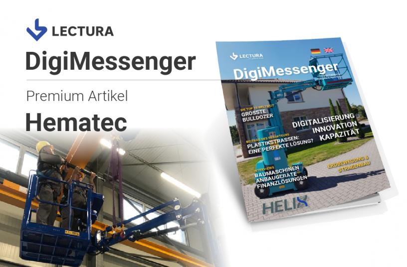 Die HELIX 1004 XL ist die Lösung für Wartungs- und Montagearbeiten in der Höhe trotz Platzproblemen und hohen Gewichten <br> Image source: LECTURA