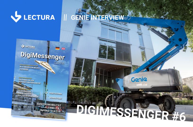 Immer mehr Kunden fordern Elektro- und Hybridmaschinen von GENIE <br> Bildquelle: LECTURA Verlag GmbH
