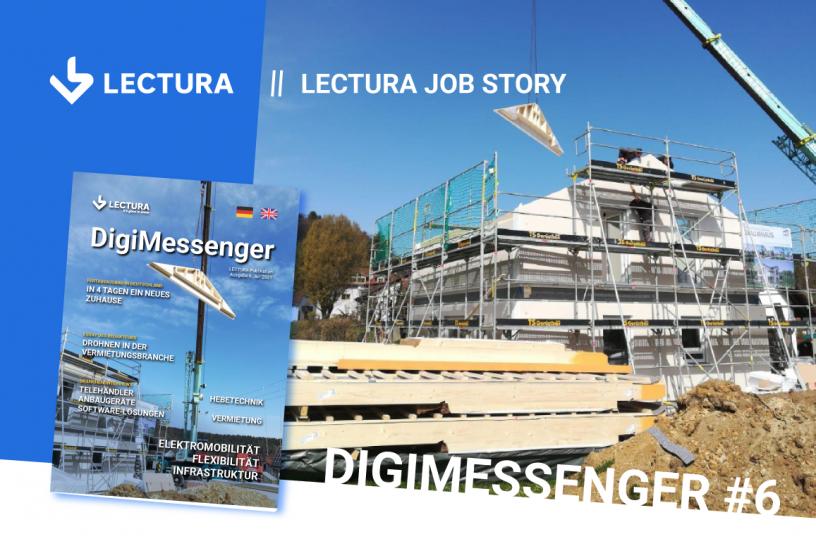 Fertighausbau in Deutschland –  in 4 Tagen ein neues Zuhause <br> Bildquelle: LECTURA Verlag GmbH