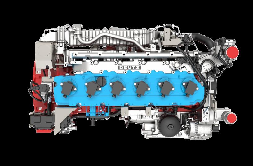 The TCG 7.8 H2 is DEUTZ's first hydrogen engine.<br>IMAGE SOURCE: DEUTZ AG