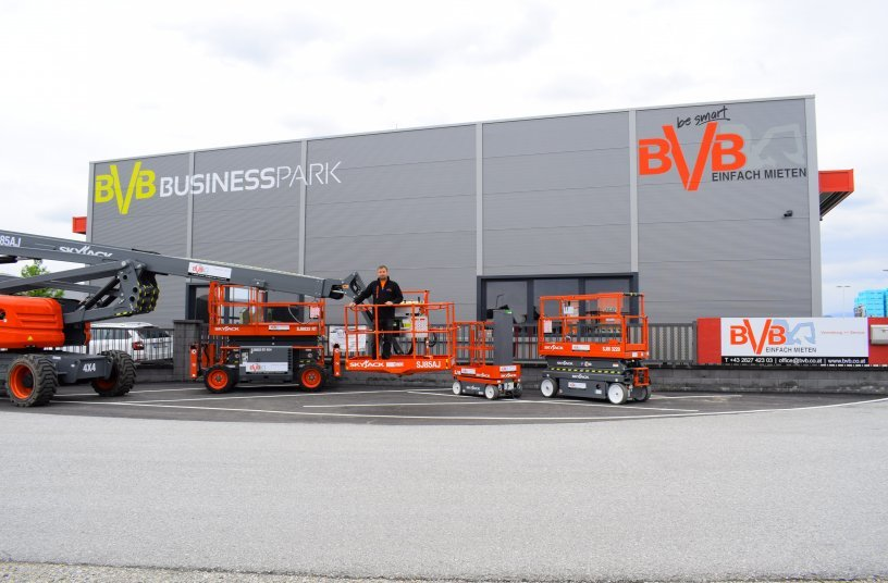 Das Baumaschinenunternehmen BVB in Lanzenkirchen (Niederösterreich) ist einer der neuen Partner bei Digando.com.  Foto: BVB Baumaschinen.