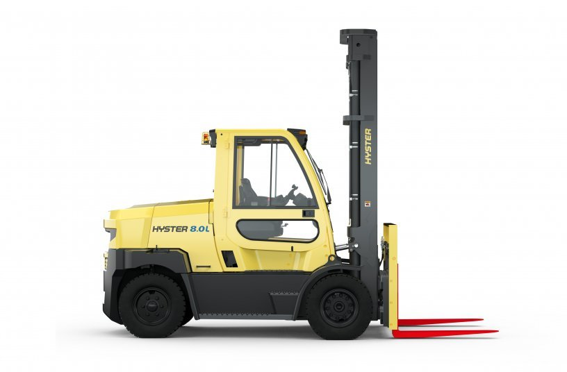 Hyster 8.0L side view (Image source: Hyster Europe)