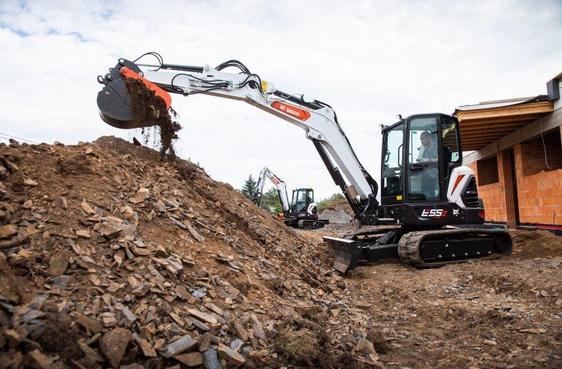 New R2-Series 5-6 tonne Mini-Excavators from Bobcat