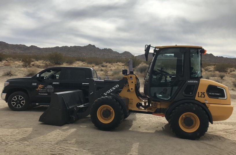 Electromobility is heading off road with electric construction equipment<br>Image source: Volvo Construction Equipment