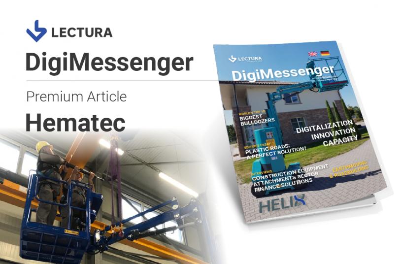 Hematec Premium Article - DigiMessenger #5