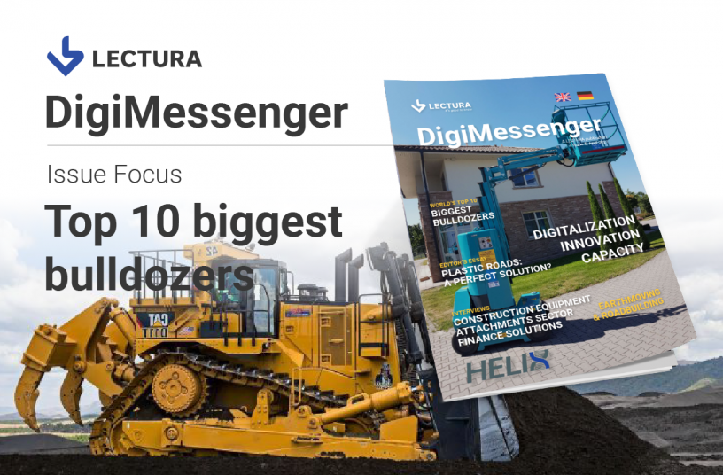 Top 10 Biggest Bulldozers by LECTURA