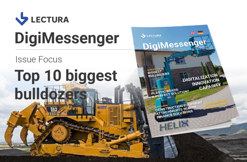 Die Top 10 weltweit größte Bulldozer