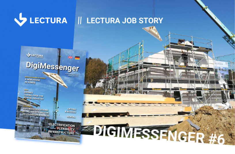 Modular building in Germany - a new home in 4 days <br> Image source: LECTURA Verlag GmbH