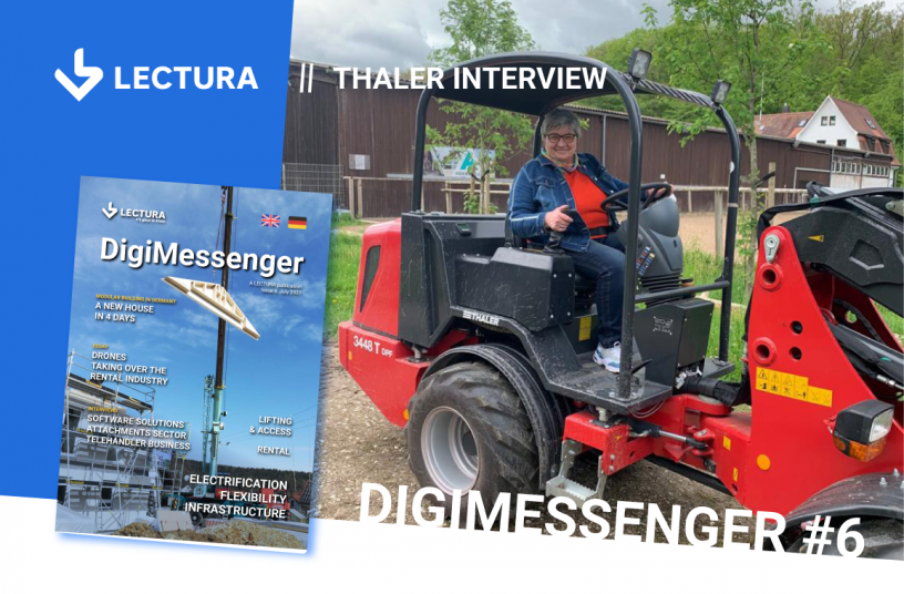 A yard loader with 5-axle steering? Petra Konheiser explores its features and functionality in practice