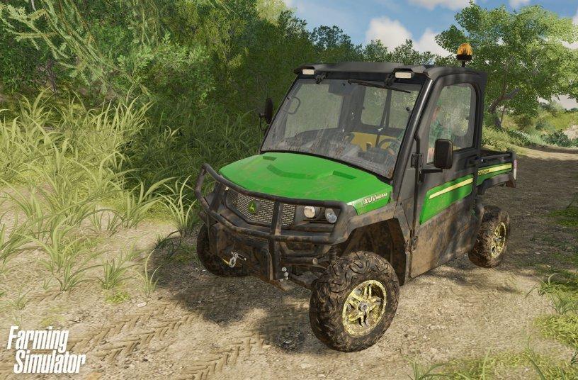Farming Simulator 22 B - Gator <br> Image source: John Deere Walldorf GmbH & Co. KG