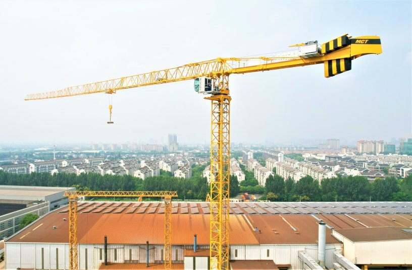 Faster, higher, stronger - Potain's leading MCT topless crane gets an upgrade