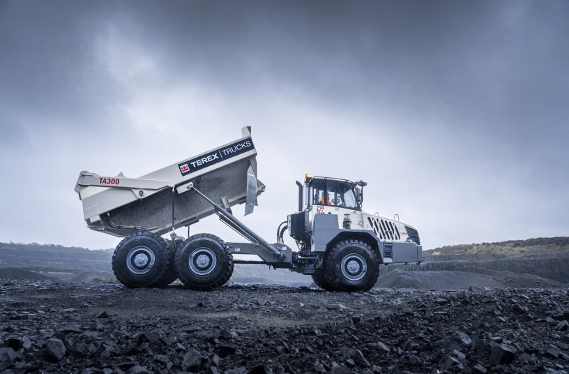 Terex Trucks has over 70 years' experience in building tough, reliable articulated haulers. The TA300 and TA400 are straightforward machines that get the job done, no matter what. <br> Image source: BBT SE