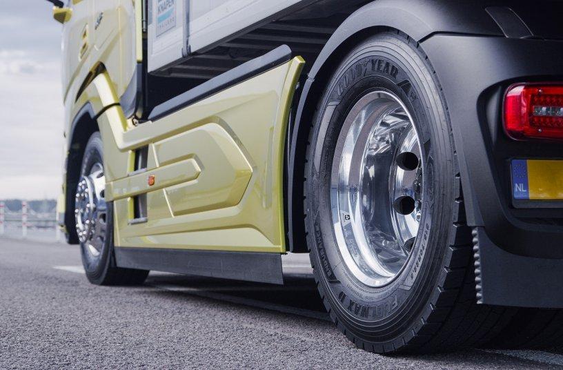 Fuelmax Endurance-truck<br> Bildquelle: Goodyear