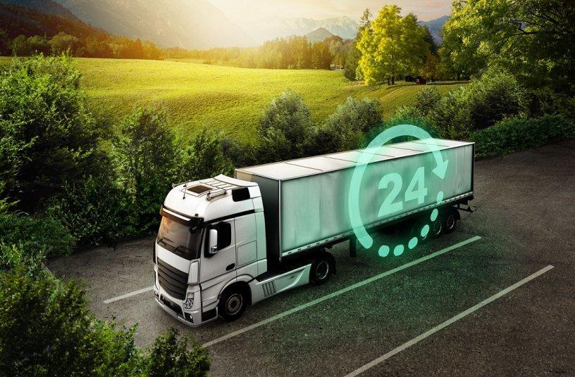 Transics pro tx trailerpulse with battery<br>Bildquelle: Goodyear Dunlop Tires Germany GmbH