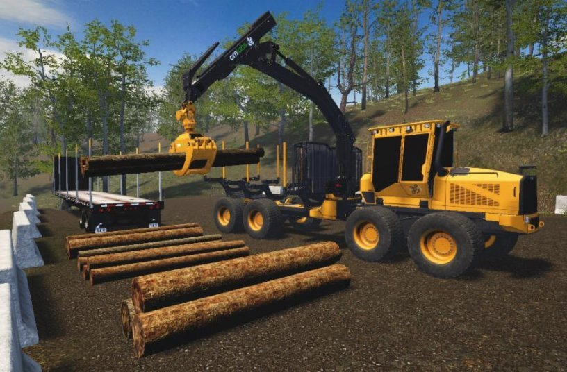 New Forwarder Simulator by CM Labs Offers an Industry-based Curriculum that Exposes Operators to Some of the Most Difficult Terrains