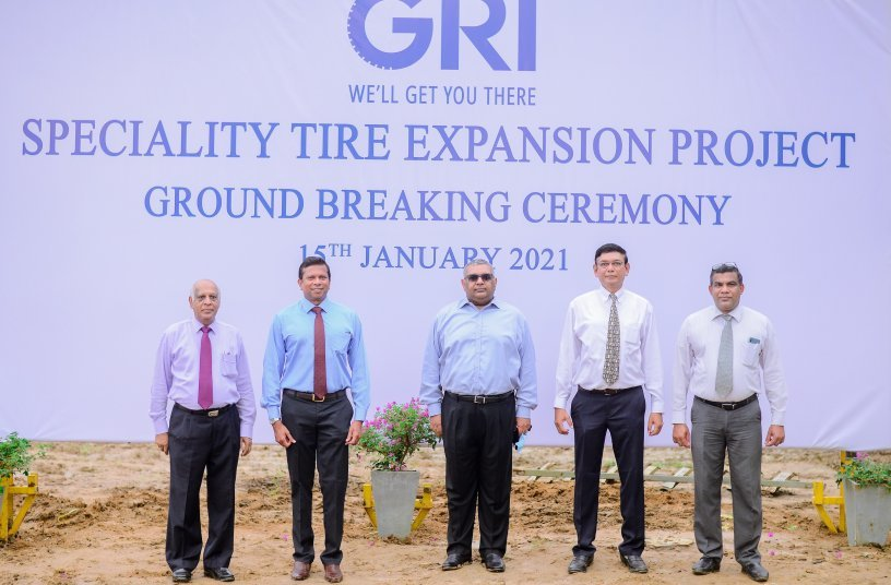 GRI Initiates Phase 2 of $100 Million Project - the Largest Specialty Tire Plant in Sri Lanka