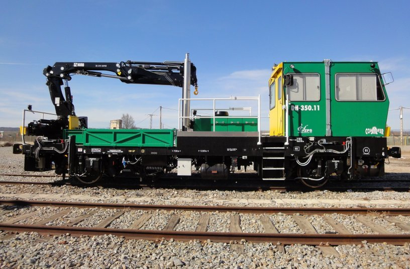 Hiab to supply 37 loader cranes in Spain to maintain railway infrastructure