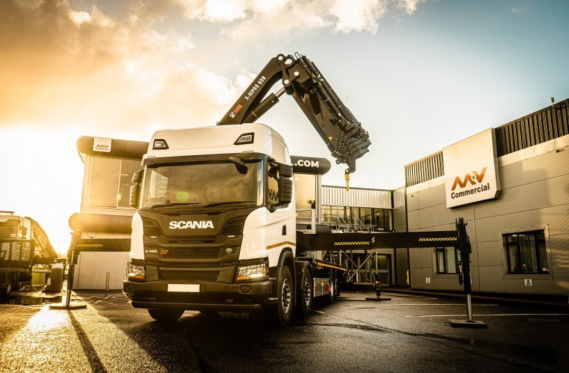 Hiab to supply MV Commercial with 100 HIAB loader cranes